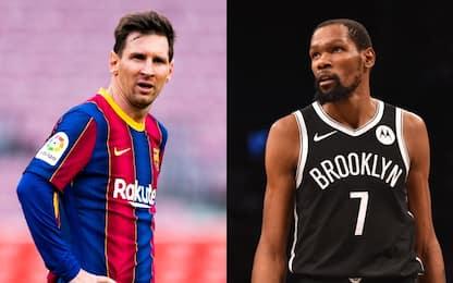 Messi, contratto scaduto: la reazione di Durant