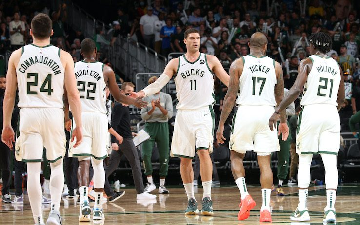NBA PLAYOFF – I Bucks pur senza Giannis schiantano gli Hawks di Gallinari in gara-5