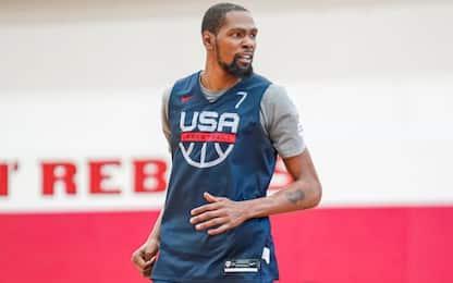 """Durant: """"Il DNA di Kobe Bryant è dentro Team USA"""""""