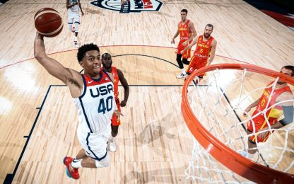 Spagna ko: Team USA vince con Johnson protagonista