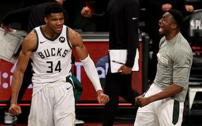 "Giannis chiama Thanasis: ""Siamo campioni NBA"""