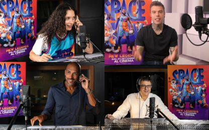 Fedez, Myers, Zanda e Tranquillo in Space Jam 2