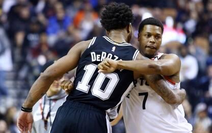 Lowry e DeRozan: i Lakers sognano il doppio colpo