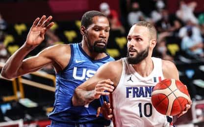 Fournier regale: la Francia manda ko Team USA