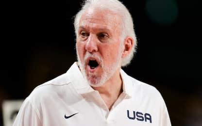 """Team USA, parla Popovich: """"Deluso, non sorpreso"""""""