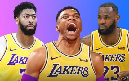 Russell Westbrook ai Los Angeles Lakers