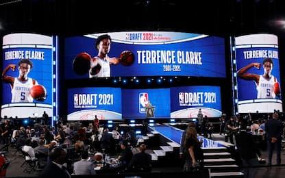 La scelta e la dedica della NBA a Terrence Clarke
