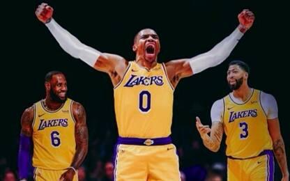 Il roster dei Lakers attorno ai Big Three
