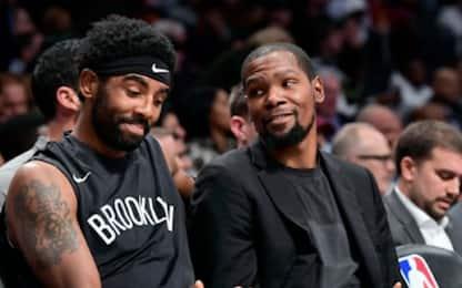 """Durant: """"Nulla contro Irving, decisione personale"""""""