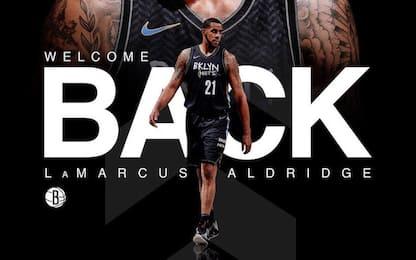 Ufficiale: i Nets riprendono LaMarcus Aldridge