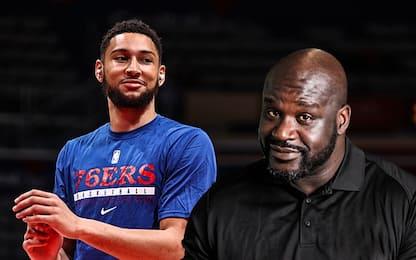 """Anche Shaq attacca Simmons: """"Non sei così forte"""""""