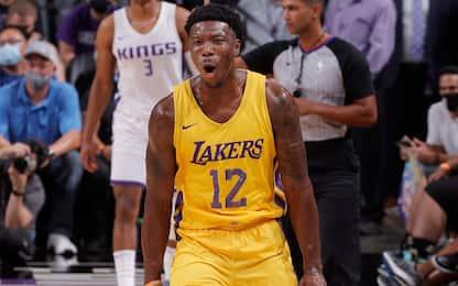L'ex Lakers Devontae Cacok firma con i Nets