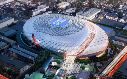 Clippers, presentata la nuova arena: l'Intuit Dome