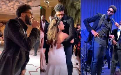 Matrimonio in casa Lakers: che show di Davis