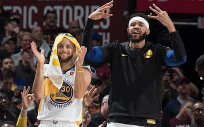 Qual è il segreto di Curry? Lo rivela JaVale McGee