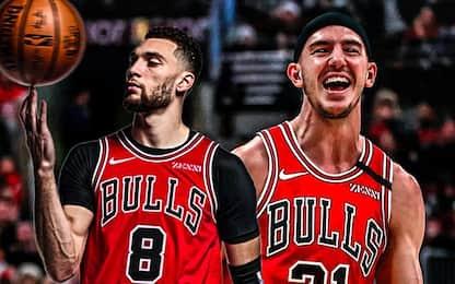 LaVine e Caruso fanno sognare i tifosi dei Bulls