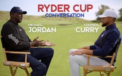 """Steph&MJ insieme: """"Golf più difficile del basket"""""""