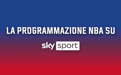 Tutte le partite NBA su Sky: la programmazione