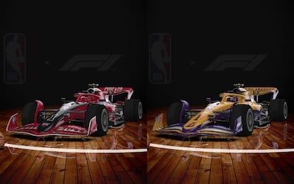 NBA e F1 insieme: le franchigie diventano auto