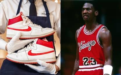 Jordan, scarpe vendute all'asta per 1.5 milioni