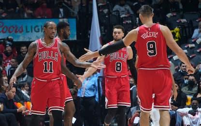 Chicago resta imbattuta, Denver ko, reazione Nets
