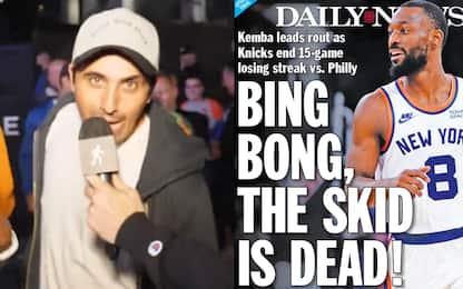 """Come """"Bing Bong"""" è diventato lo slogan dei Knicks"""