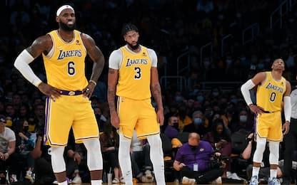 L'analisi dell'inizio difficile dei Lakers. FOCUS
