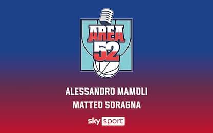 """Debutta """"Area 52"""", il podcast di Sky sul mondo NBA"""