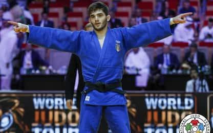 Judo, Grand Slam Abu Dhabi: Lombardo vince l'oro