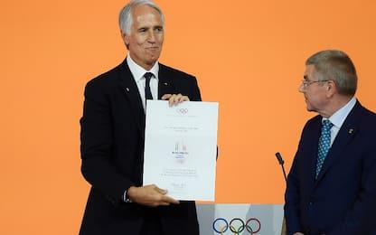 "Malagò: ""Fiducia ripagata per Olimpiadi"""