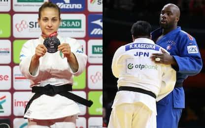 Grand Slam Parigi: argento per Giuffrida, Riner ko