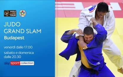 Il judo riparte: Grand Slam di Budapest su Sky