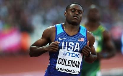 Squalifica ridotta per Coleman, ma niente Giochi