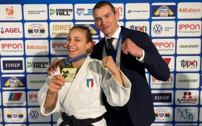 Judo, Giuffrida vince l'oro all'Europeo di Praga
