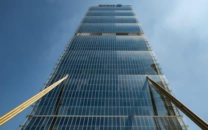 Milano Cortina 2026, Torre Allianz casa Olimpiadi