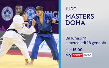 Judo, Masters di Doha su Sky: 10 azzurri in gara