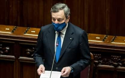 """Draghi: """"Olimpiade 2026 occasione di sviluppo"""""""
