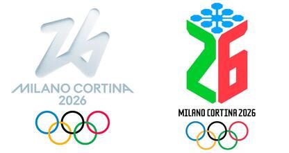 Giochi 2026, Pellegrini e Tomba svelano i loghi