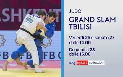 Judo, le finali del Grand Slam di Tbilisi su Sky