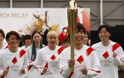 La torcia olimpica è partita: viaggio verso Tokyo