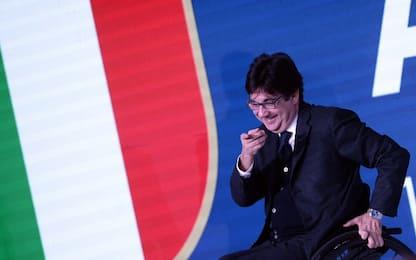 Pancalli rieletto presidente Comitato paralimpico
