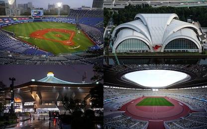 Olimpiadi, tutti gli impianti delle gare