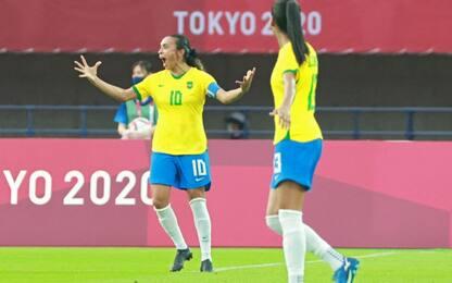 "Marta-gol in 5 Olimpiadi, Pelé: ""Sei un simbolo"""