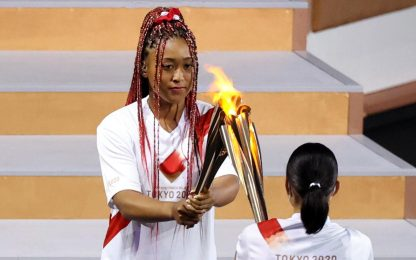 Naomi Osaka ultimo tedoforo: tutte le FOTO
