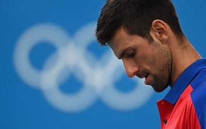Djokovic eliminato da Zverev, niente Golden Slam