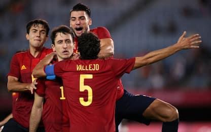 La Spagna fa fuori Kessié, Brasile in semifinale