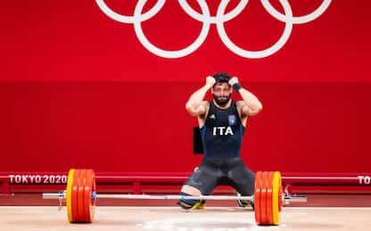 Pizzolato di bronzo: record per sollevamento pesi
