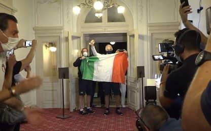 Una giornata storica: che festa a Casa Italia!