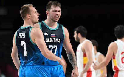 Slovenia batte Spagna: ai quarti con la Germania
