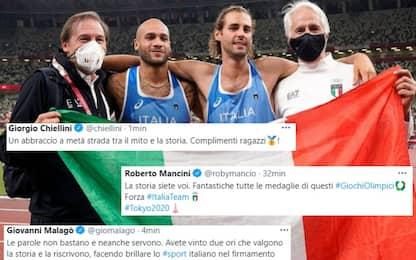 """Telefonata di Draghi: """"Italia orgogliosa di voi"""""""